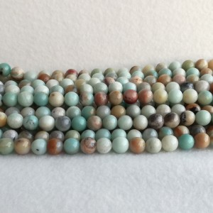 Colorful Amazonite 10.5 mm - rope 38 cm KA03