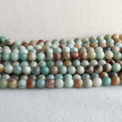 Colorful Amazonite 10.5 mm - rope 38 cm KA03