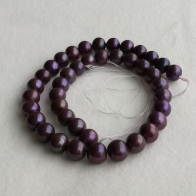 Pearls - eggplant PE37