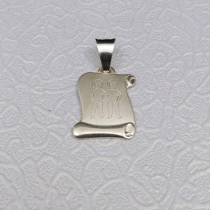 Silver pendant sign of the zodiac twins SSZD1603