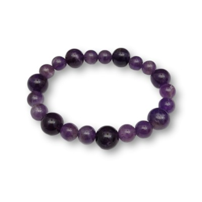 Purple amethyst bracelet KB07-2