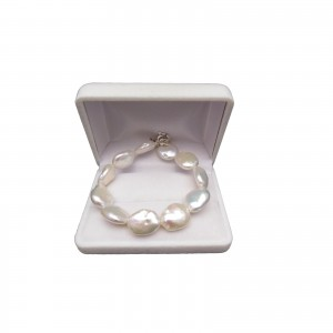 Bracelet made of real coin pearls with a coin color of 19, 20 or 21 cm PB21-A