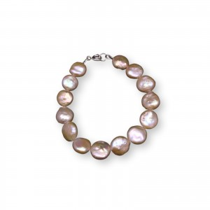 Bracelet made of real coin pink 19, 20 or 21 cm PB21-D