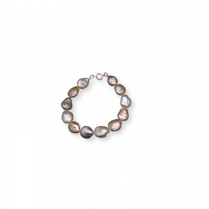 Coin pearls bracelet PB21-E MIX