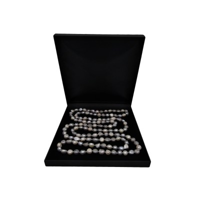 Cord of pearls 160 cm - color mix PEG03-A