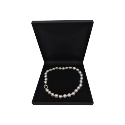Necklace - big white corn pearls PES3901A17A