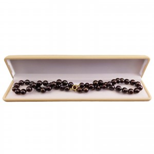 Necklace made of real brown pearls PNS28