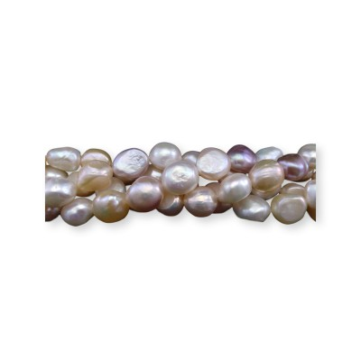 Pearls - baroque color mix PE07