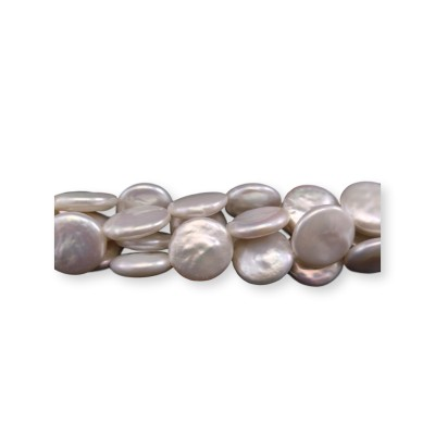 Pearls - gray coin PE16