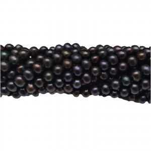 Pearls - black PE33-C