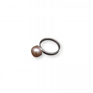 Classic ring with pearl pink 10 mm PPi08-C