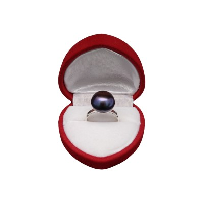 Ring with purple pearl PPi19