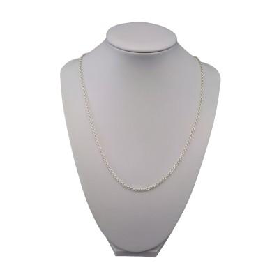 Chain silver rings 45 cm SL08-A