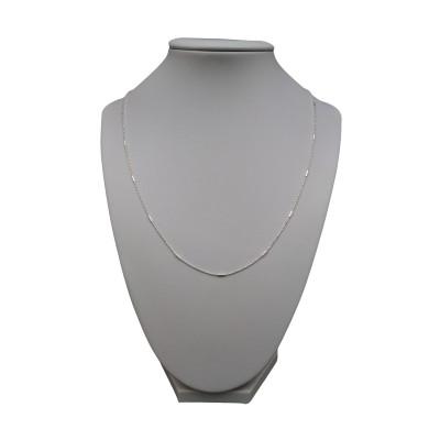 Silver chain ball weave - shiny 50 cm SL09-A