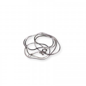 Silver shiny snake chain 42, 45 or 50 cm SL12