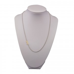 Gold-plated silver chain SLC22M