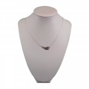 Silver chain celebrity wing 47 cm SLC30