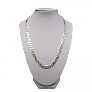 Silver men's chain 55 or 60 cm SLM03