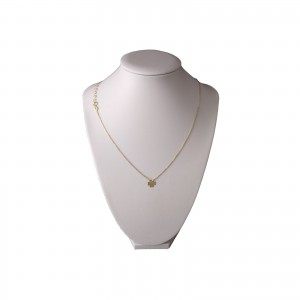 Gold-plated silver chain celebrity with SLPC03